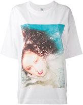 Kenzo Patti d'Arbanville oversized T-shirt - women - Polyamide/Spandex/Elastane/Viscose - S