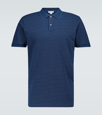 Sunspel Pique cotton polo shirt