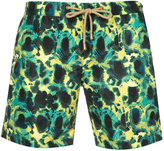 Thorsun - patterned swimming trunks - men - Polyester - 30