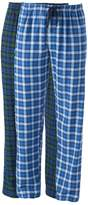 Hanes Men's 2-pk. Plaid Flannel Lounge Pants