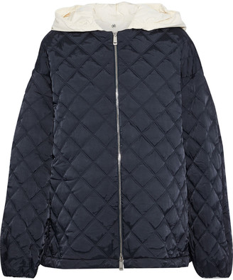 Jil Sander Quilted Shell Hooded Jacket
