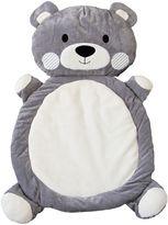 Living Textiles Bear Play Mat, Grey