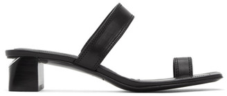 Alexander Wang Black Ellis Heeled Sandals