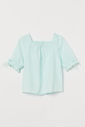 H&M Seersucker blouse
