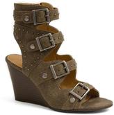 Sugar Stone Strappy Wedge Sandal