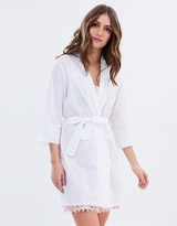 Papinelle Swiss Dot Robe