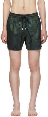 Vilebrequin Navy Prince de Galles Moorise Swim Shorts