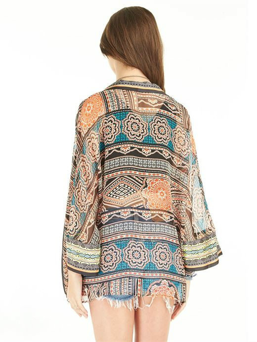 Gypsy 05 GYPSY05 - Kiribati Cropped Kimono