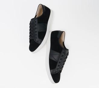 Vionic Men's Suede Water Resistant Cupsole Sneaker - Jerome