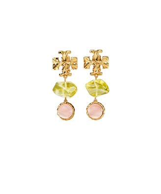 Tory Burch Roxanne Double-Drop Earring