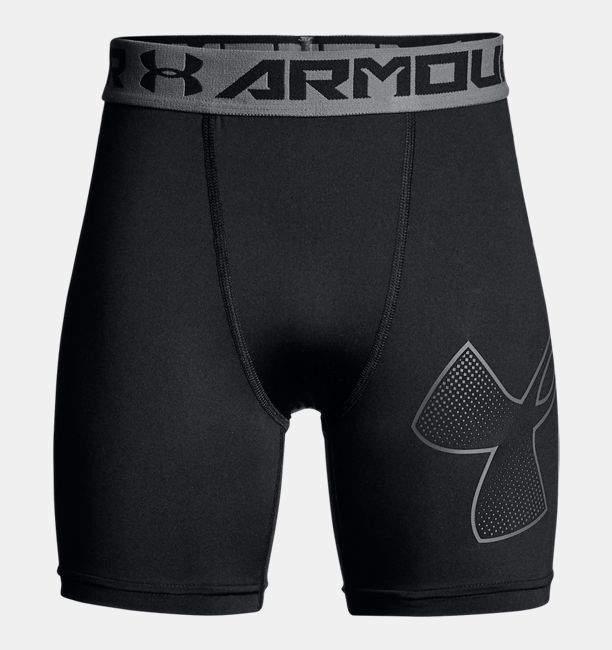 Under Armour Boys' HeatGear® Armour Mid Shorts