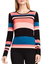 Vince Camuto Multi-Toned Striped Sweater