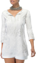 Gretchen Scott White Tunic Top