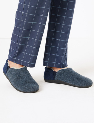 Marks and Spencer Big & Tall Slippers with Freshfeet