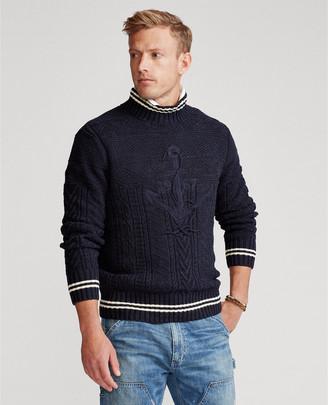Ralph Lauren Hand-Embroidered Sweater