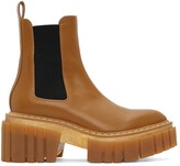 Thumbnail for your product : Stella McCartney Tan Emilie Chelsea Boots