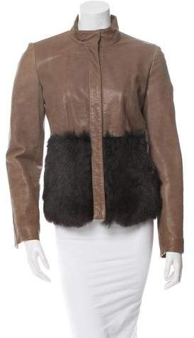 Anna Molinari Leather Jacket