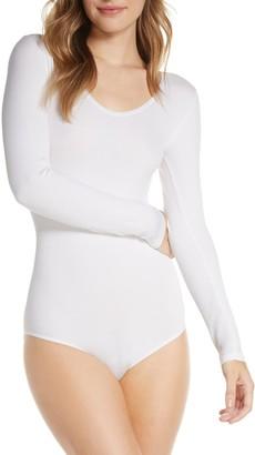 Yummie by Heather Thomson Aaliyah Rib Knit Shapewear Bodysuit