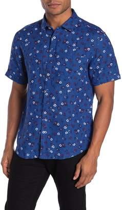 Good Man Brand Aloha Floral Short Sleeve Linen Shirt