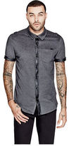 G by Guess GByGUESS Men's Almero Marled Shirt