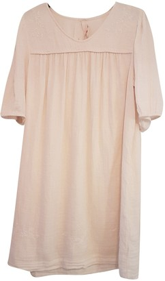 Bonpoint Pink Cotton Dress for Women