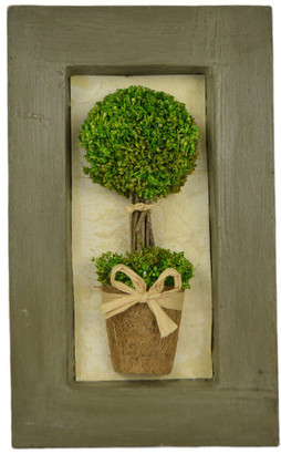 Gt Direct Topiary in Picture Frame Wall Decor