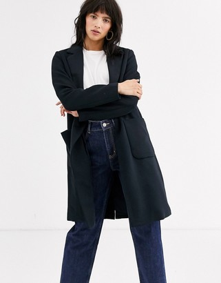 Only breasted coat-Navy