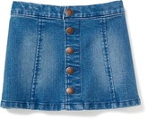 Old Navy Button-Front Denim Skirt for Toddler