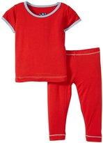Kickee Pants Pajama Set (Baby) - Jazz-0-3 Months