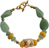 Barse FINE JEWELRY Art Smith by Green & Yellow Gemstone Bracelet