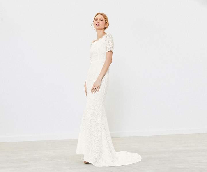 Oasis Fishtail Wedding Dress