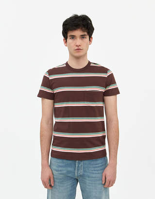 Levi's 1960'S Casual Stripe Tee in Brown