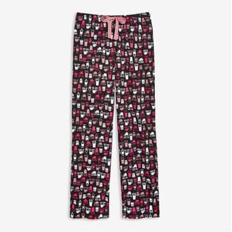 Joe Fresh Women's Jersey Sleep Pants, JF Black (Size S)