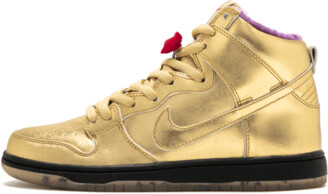 Nike SB Dunk High QS 'Humidity - Trumpet' Shoes - Size 6