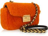 Fendi Baguette Mini shearling bag