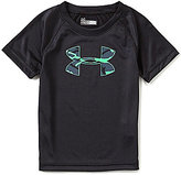 Under Armour Little Boys 2T-7 Anatomic Big Logo Short-Sleeve Graphic Tee
