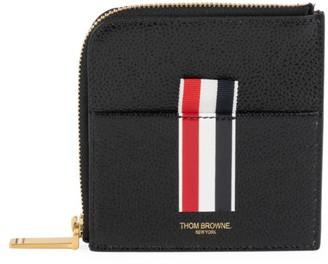 Thom Browne Square Half-Zip Wallet