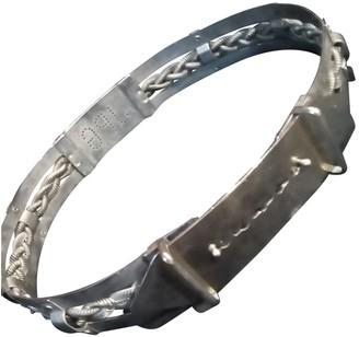 Jean Paul Gaultier Silver Metal Belts
