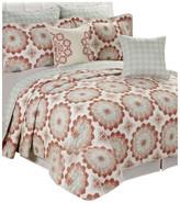 Serenta Delia Quilted 7 Piece Bed Spread Set, Queen
