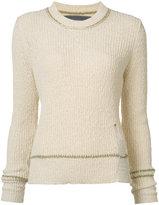 Raquel Allegra crew neck sweater - women - Cotton - 0