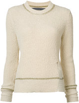 Raquel Allegra crew neck sweater - women - Cotton - 1