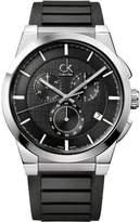 Calvin Klein K2S371D1 – Watch For Men, Rubber Strap Black