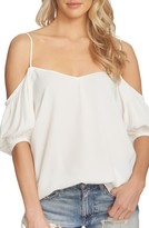 1 STATE Women's 1.state Balloon Sleeve Off The Shoulder Top