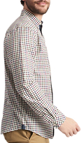 Joules Wilby Long Sleeve Check Shirt, Cream