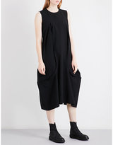 Comme des Garcons Oversized sleeveless wool dress