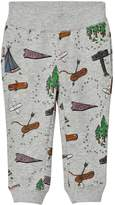 Stella McCartney Grey Explorer Print Zachary Sweat Pants