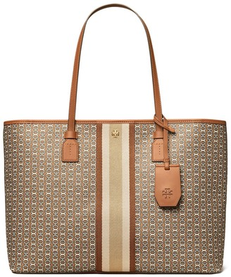 Tory Burch Gemini Link Top-Zip Tote Bag