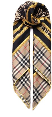 Burberry Archive Printed Scarf