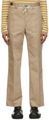Marni Beige Workwear Trousers