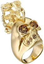 Alexander McQueen Skull Punk Fish Small Ring